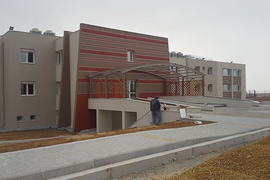 Extension of a building complex of psychiatric clinic in Choristi Drama
